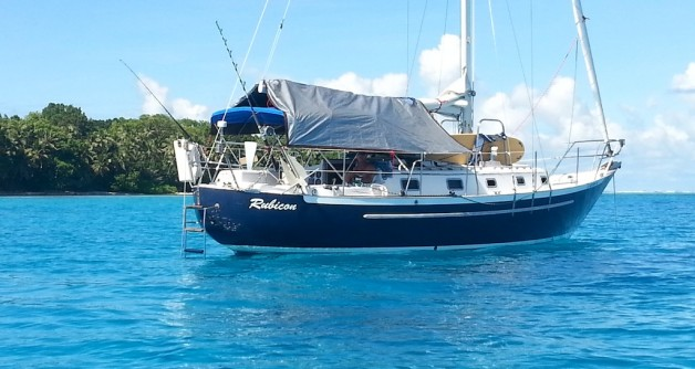 Voyage from Guam to Woleai March 2014
