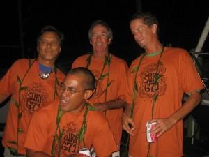 Surf gang departure Thurs. 11pm